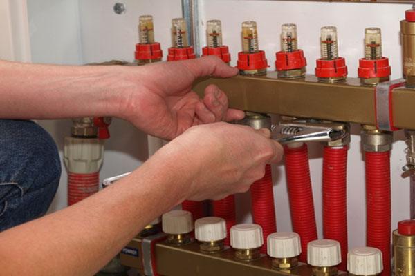 installation chauffage avec tuyaux per