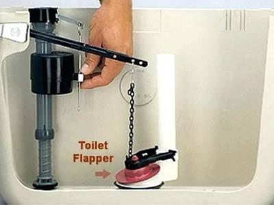 Comment réparer une fuite d'eau WC ou toilette